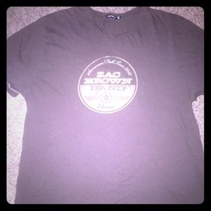 Zac brown band concert tee 2010